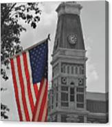 Courthouse In America Canvas Print