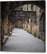 Courtyard Archway Canvas Print