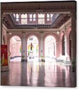 Courtyard Of The Central Post Office, Lima Peru Canvas Print