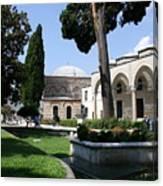 Courtyard Topkapi Palace - Istanbul Canvas Print