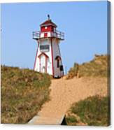 Covehead Harbour Lighthouse 5701 Canvas Print