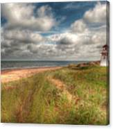 Covehead Lighthouse Canvas Print