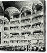 Covent Garden Theatre, 1795 Canvas Print