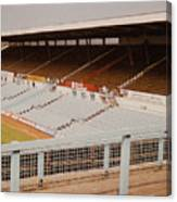 Coventry City - Highfield Road - North Side Thackhall Street Stand 2 - September 1969 Canvas Print