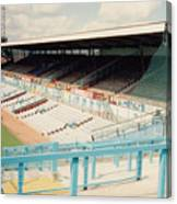 Coventry City - Highfield Road - North Side Thackhall Street Stand 3 - August 1991 Canvas Print