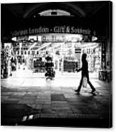 Coventry Street - London, England - Black And White Street Photography Canvas Print