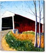 Covered Bridge IIi Canvas Print