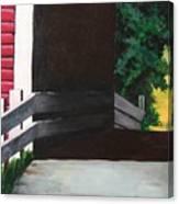 Covered Bridge No.1 Canvas Print