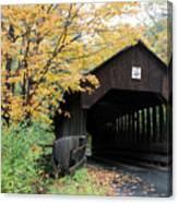 Covered Bridge Number 22 Canvas Print