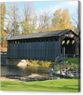 Covered Bridge Canvas Print