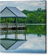 Covered Dock Canvas Print