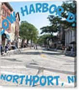 Cow Harbor Day Fun Canvas Print