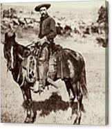 Cowboy, 1887 Canvas Print