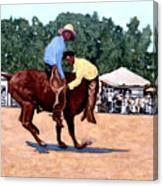 Cowboy Conundrum Canvas Print