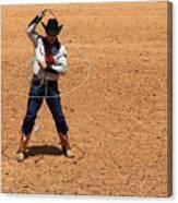 Cowboy Entertainer Canvas Print