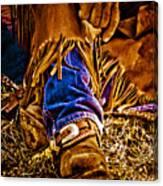 Cowboy Gold Canvas Print