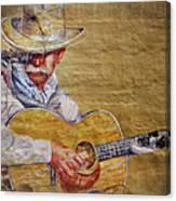 Cowboy Poet Canvas Print