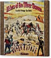 Cowboys And Knives Canvas Print