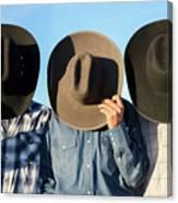 Cowboys Anonymous Canvas Print
