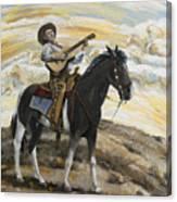 Cowboy's Dream Canvas Print