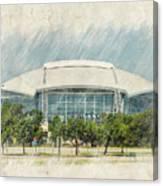 Cowboys Stadium Canvas Print