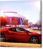 Cowboys Stadium V2 Canvas Print