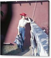 Cowgirl Mama Canvas Print