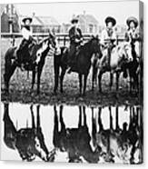 Cowgirls, 1907 Canvas Print