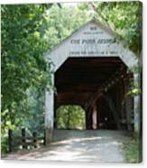 Cox Ford Bridge Canvas Print