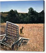 Coyote And Rabbit Canvas Print