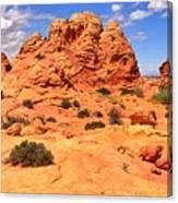 Coyote Buttes Pastel Landscape Canvas Print