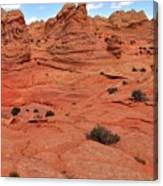Coyote Buttes Pink Landscape Canvas Print