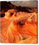Coyote Buttes Rainbow Dragon Canvas Print