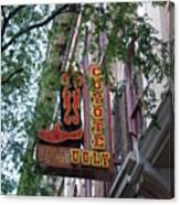 Coyote Ugly Saloon Nashville Canvas Print