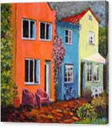 Cozy Street Canvas Print