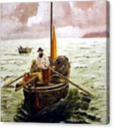Crab Fisherman Canvas Print