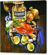 Crab Fixin's Canvas Print