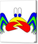 Crab-Mac-Claw Canvas Print