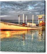 Crabbing Boat Beth Amy - Smith Island, Maryland Canvas Print