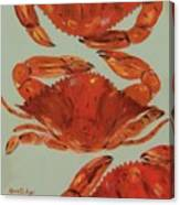 Crabs Tonight Canvas Print