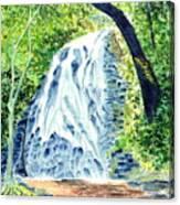 Crabtree Falls - Phantom Of The Blue Ridge Canvas Print