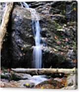 Crabtree Falls In Fall Canvas Print