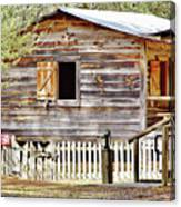 Cracker Cabin Canvas Print