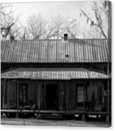 Cracker Cabin Canvas Print