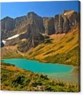 Cracker Lake Valley Canvas Print