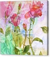 Cracklin' Rose Canvas Print