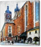 Cracow Art 1  Canvas Print