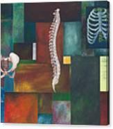 Cradle Column Cage Canvas Print