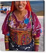 Craft Vendor In Panama City, Panama Canvas Print