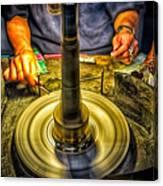 Craftsman Jewelry Maker Canvas Print